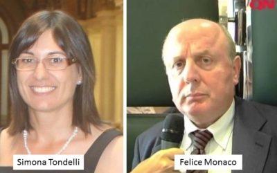 Felice Monaco eletto al CNI, nuova Presidente Simona Tondelli