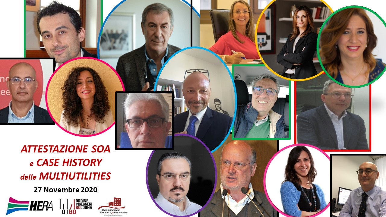 Attestazione SOA e Case History delle Multiutilities: evento oline Commissione Smart Building & Smart City