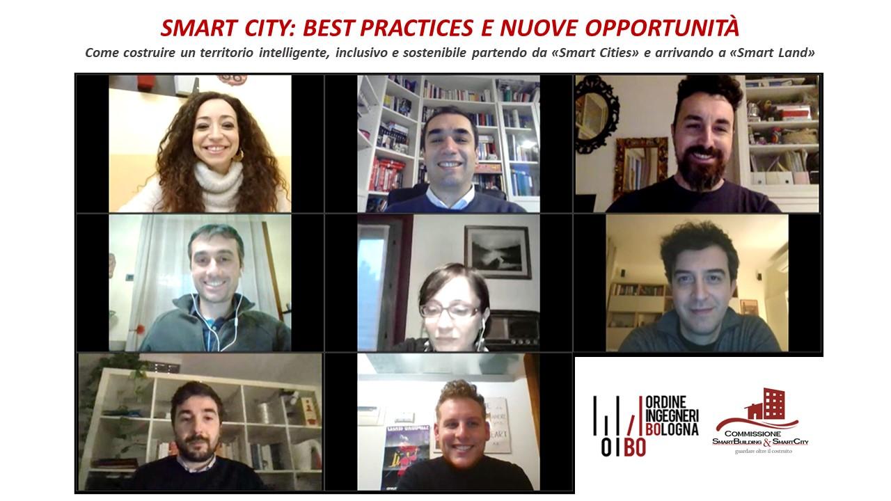 Smart City: best practices e nuove opportunità – seminario del 12 febbraio 2021 [Scarica le slide]
