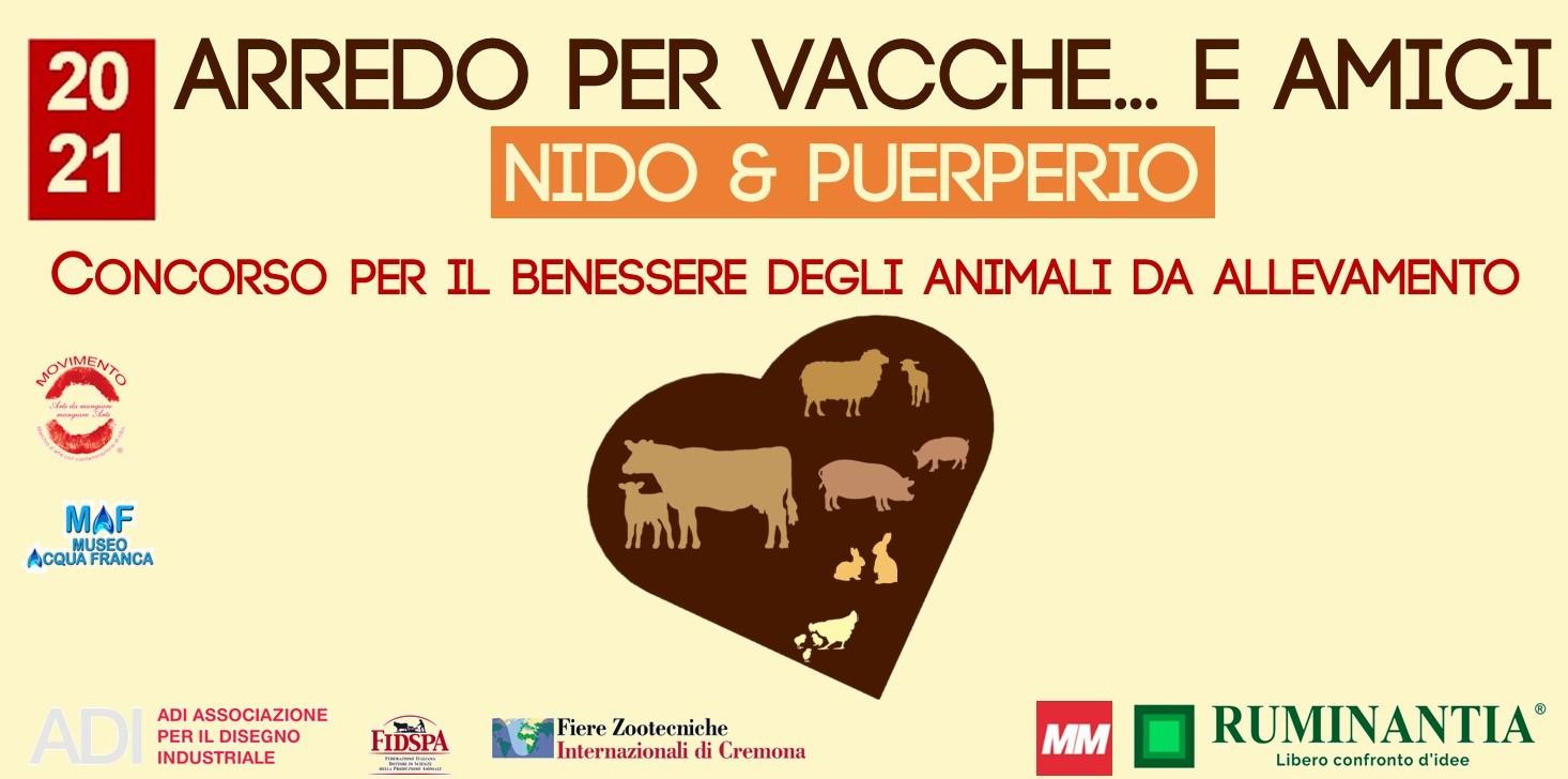 """Bando di concorso """"Arredo per vacche e amici"""" per il benessere degli animali"""