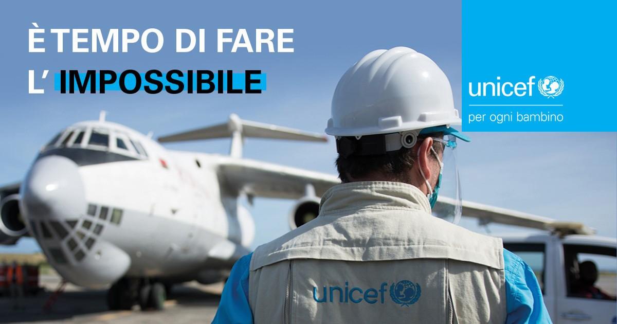 Continua la donazione di vaccini anti Covid 19 promossa dall'UNICEF Bologna